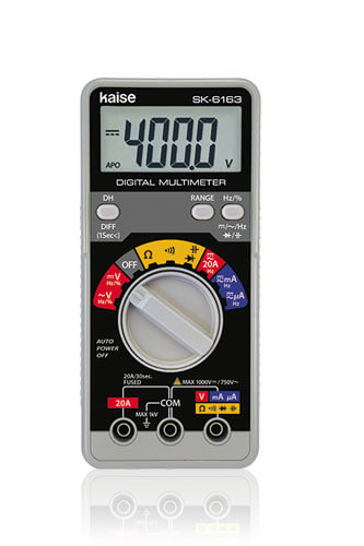Kaise Corporation Digital Multimeters Sk 6161 6163